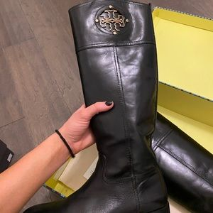 Authentic Tory Burch Riding Boots